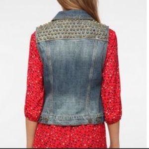 [BDG] Urban Outfitters Studded Denim Vest